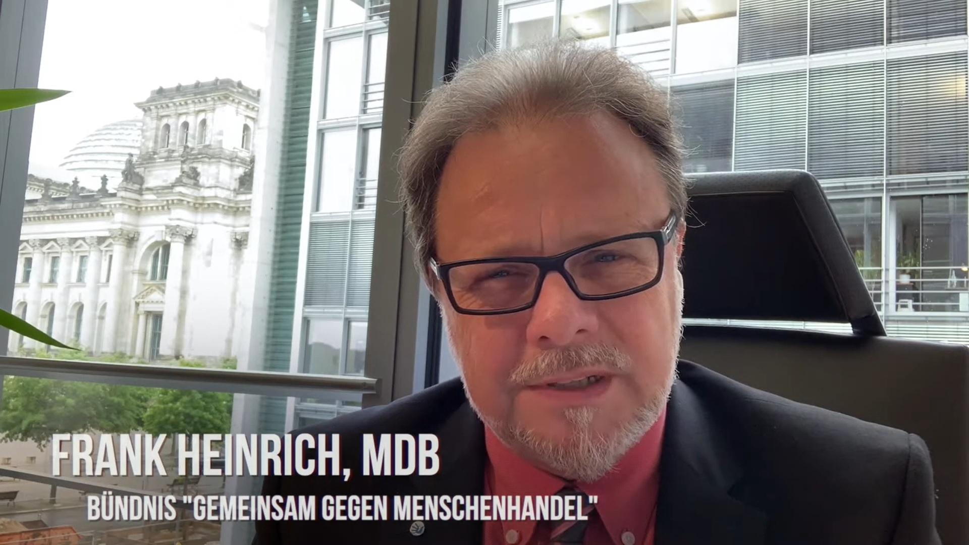 """Interview mit Frank Heinrich: """"Wollen wir weiterhin als 'Bordell Europas' gelten?"""""""